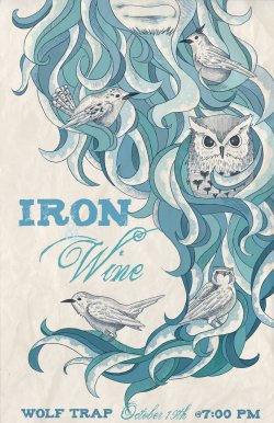Iron_and_Wine_poster_color_by_jessisamess